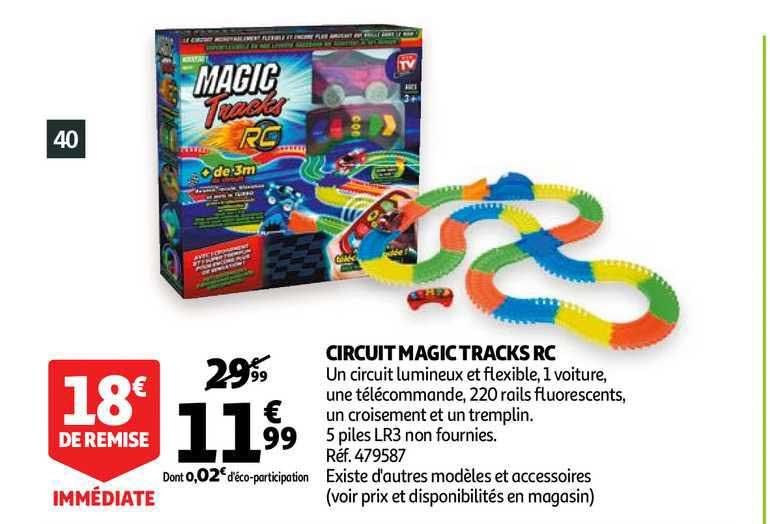 offre circuit magic tracks rc chez