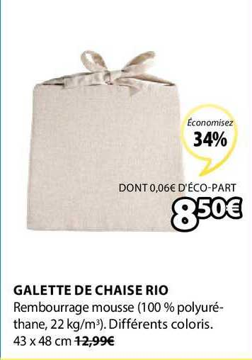 Galette De Chaise Alinea : galette, chaise, alinea, Offre, Galette, Chaise
