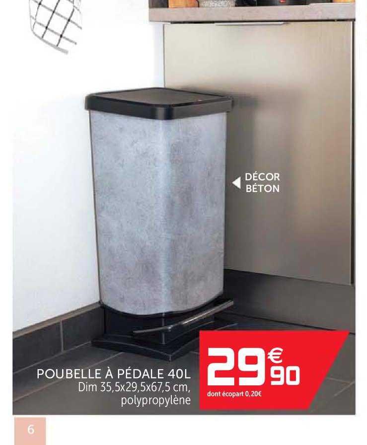 offre poubelle tri selectif 60 l chez gifi