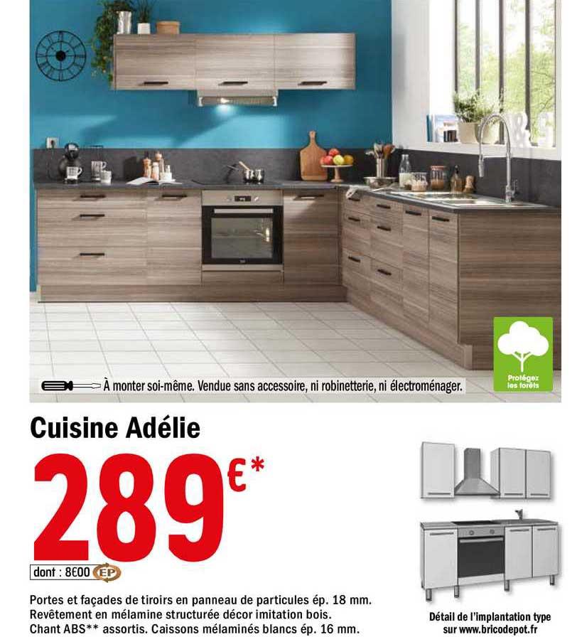 Offre Cuisine Adelie Chez Brico Depot
