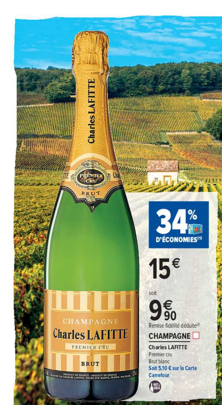 offre champagne charles lafitte chez
