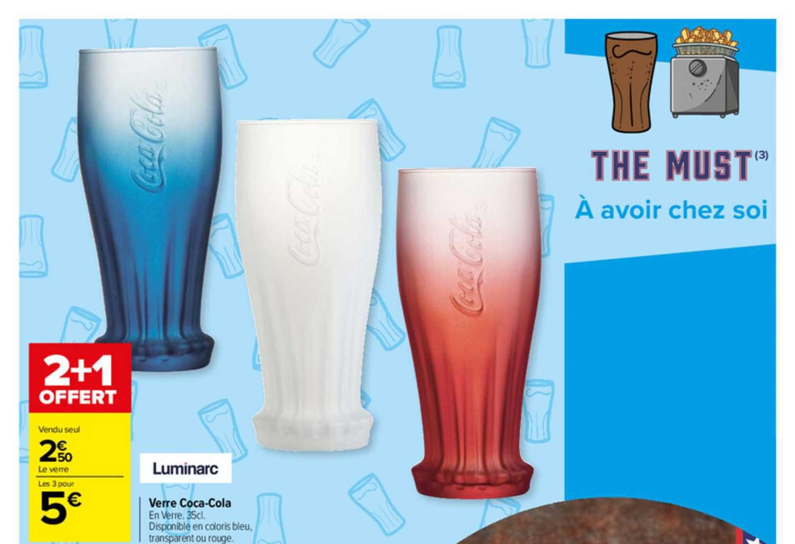offre verre coca cola chez carrefour