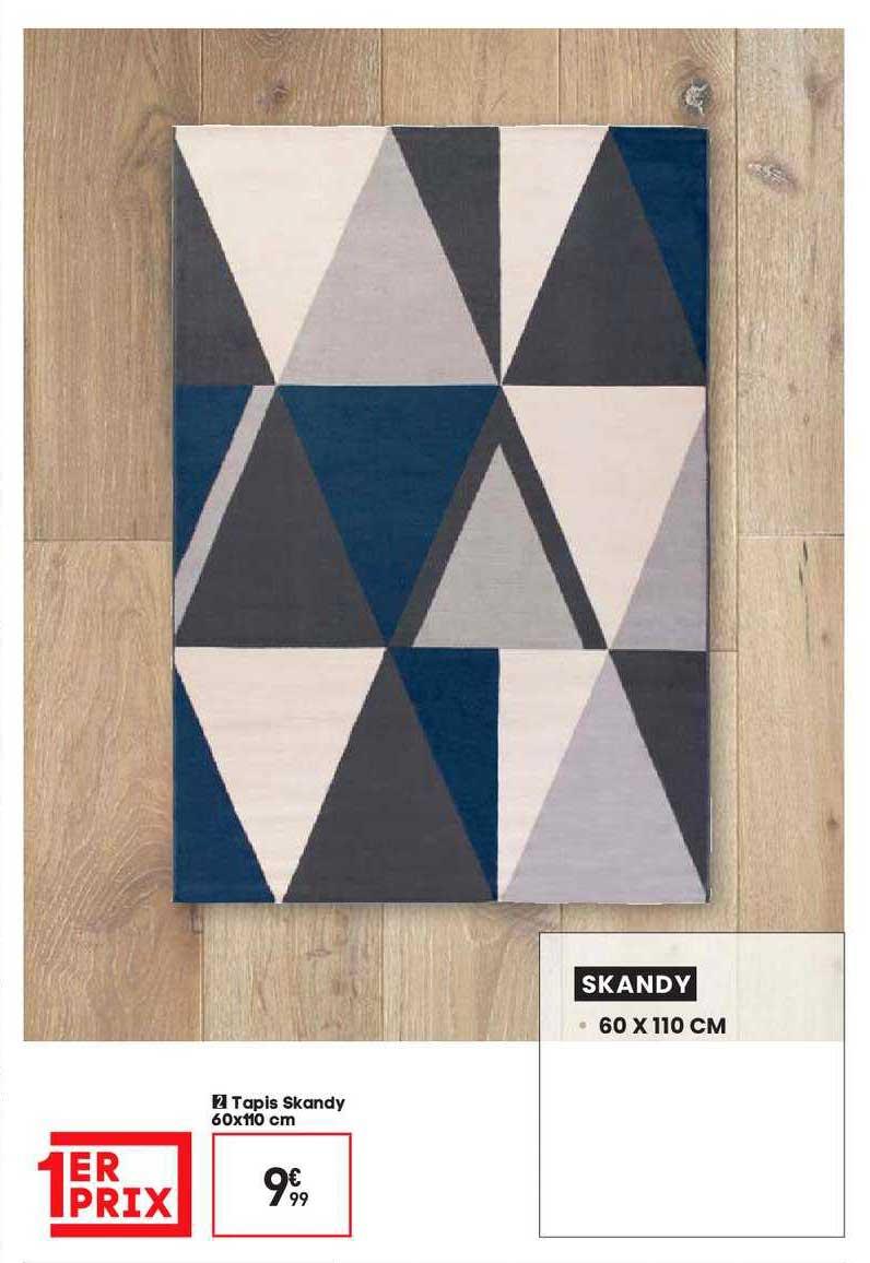 offre tapis skandy chez conforama