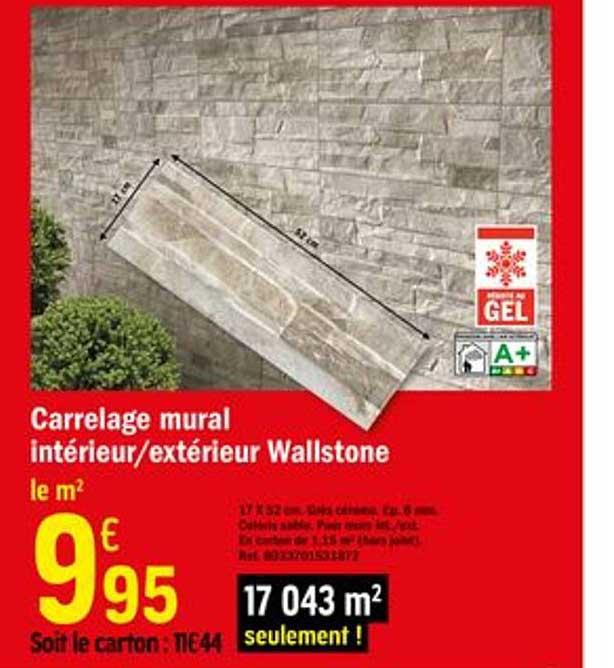 Offre Carrelage Mural Morse Chez Castorama