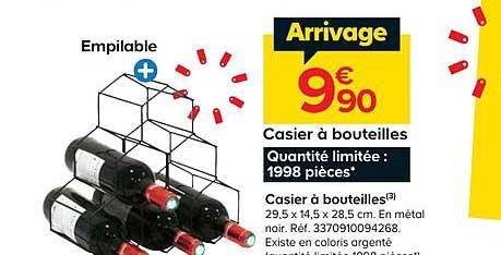 Offre Casier A Bouteilles Chez Castorama