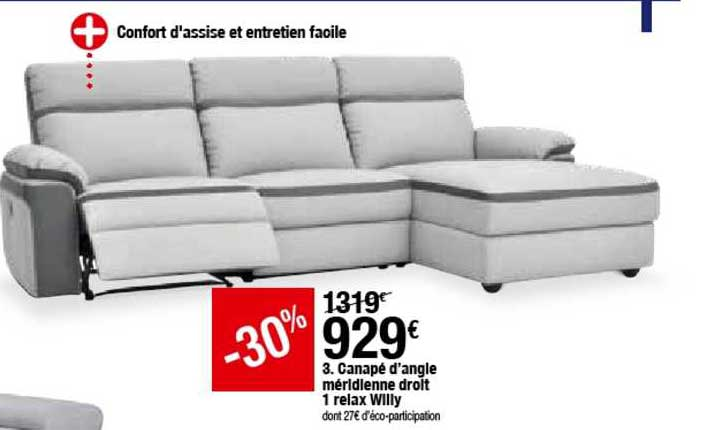 d angle meridienne droit 1 relax willy