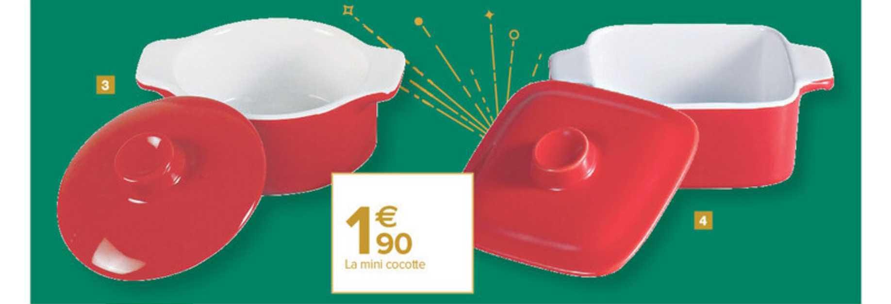 offre mini cocotte chez carrefour market