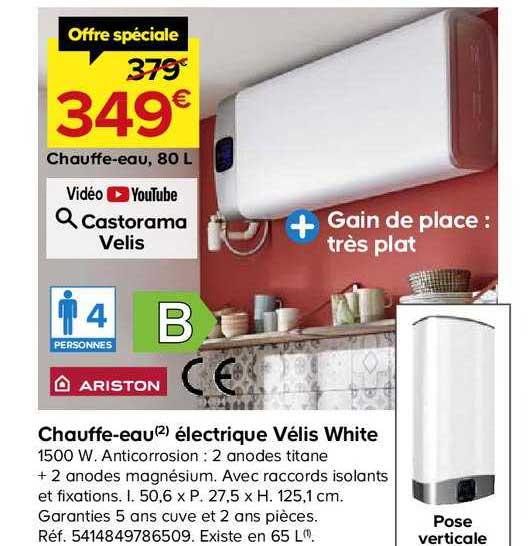 Offre Chauffe Eau Electrique Steatite 200 L Groupe De Securite Chez Eleclerc Brico