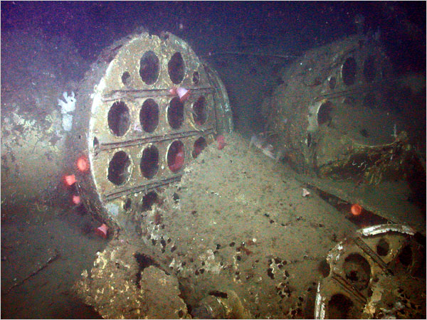 Studying a Navy Relic Undisturbed for Nearly 60 Years