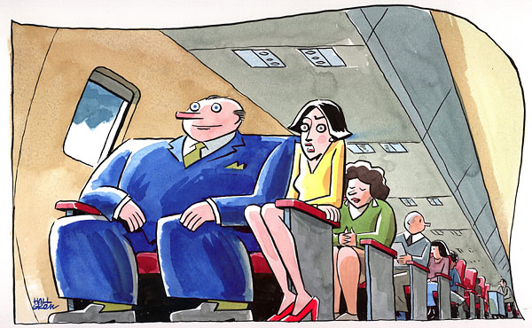 Air Travel Little Wiggle Room for XXL Passengers  The