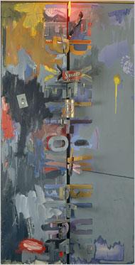 Robert Niche Painting : robert, niche, painting, Bull's-Eyes, Parts:, Theater,, Jasper, Johns, Times