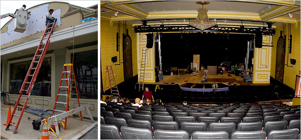Coming Attraction The Theater Itself  The New York Times