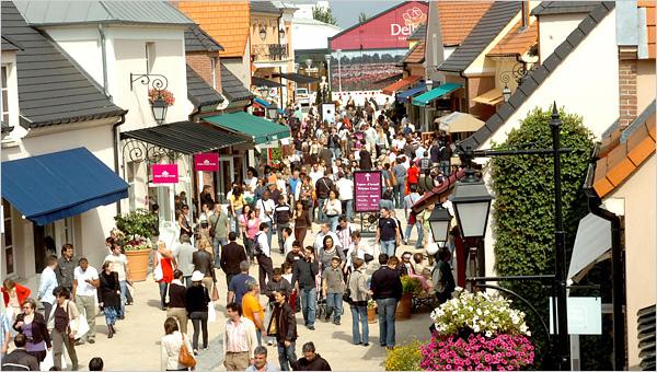 Outlet Shopping the European Way  The New York Times