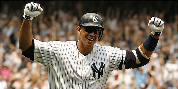 Alex Rodriguez A Continual Stir The New York Times