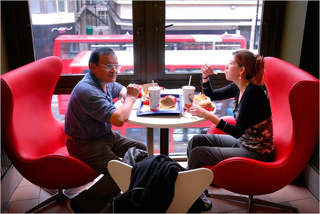 To Woo Europeans McDonalds Goes Upscale  The New York Times