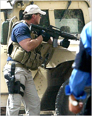 Blackwater USA  Iraq  Private Security Contractors
