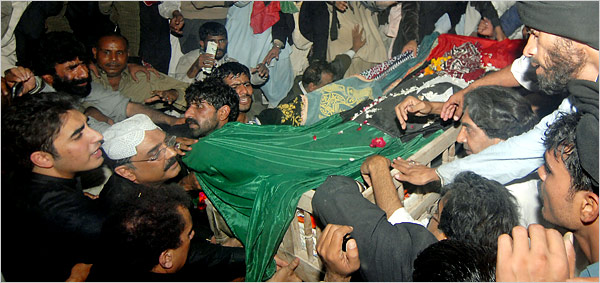 Pakistanis Bury Bhutto And Brace For More Turmoil The