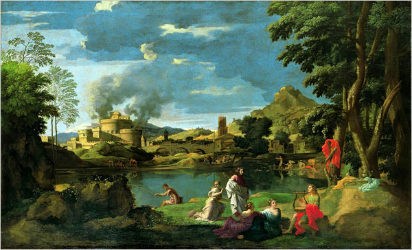 Poussin and Nature Arcadian Visions  Art  Review  The New York Times