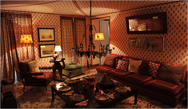 In Paris an Apartment Inspired by India and Turkey  The