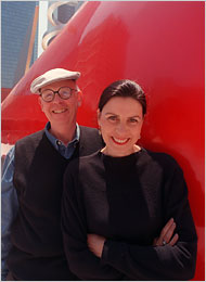Coosje van Bruggen Sculptor and Collaborator With Claes Oldenburg Dies at 66  The New York Times