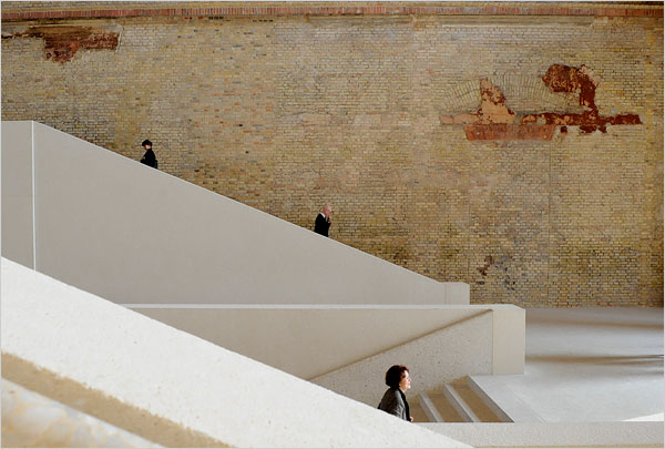 Modern Makeover With Wounds of War for Neues Museum in Berlin  The New York Times