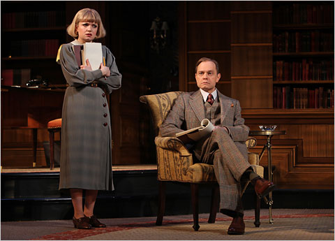 David Hyde Pierce Of 'Accent On Youth' A Modern Man For A 1930s