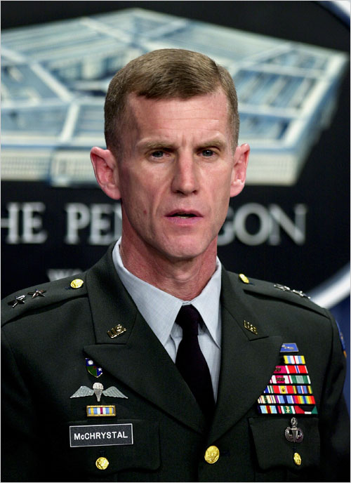 Lt Gen Stanley A McChrystals Asceticism  The New York