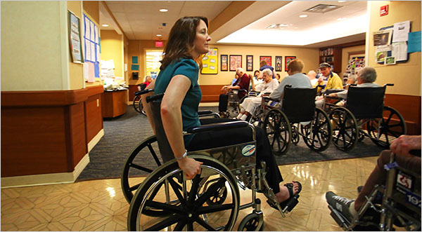 Experiencing Life Briefly Inside a Nursing Home  The