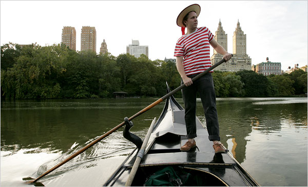 Aboard Liam Daniel Pierce's Central Park Gondola The New