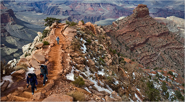 Hiking to the Bottom of the Grand Canyon  The New York Times