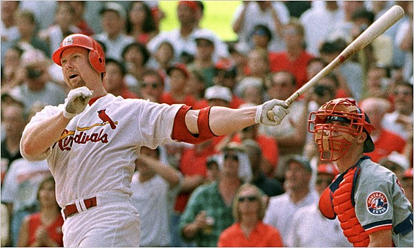 McGwire Admits That He Used Steroids NYTimes Com