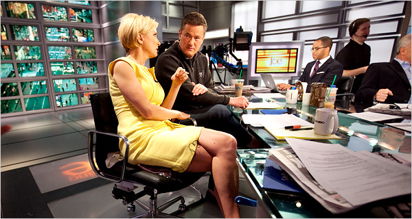 Mika Brzezinski and Joe Scarborough The OddCouple Hosts