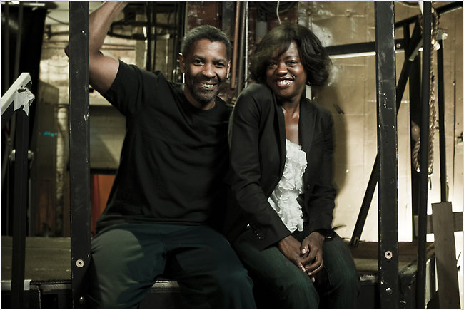 Denzel Washington and Viola Davis in Fences  The New