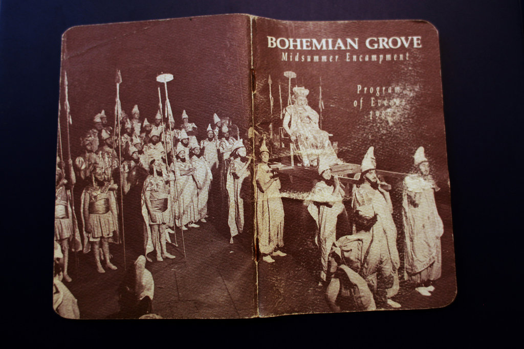 Bohemian Grove Goes On but Days of Protest Fade  The New York Times