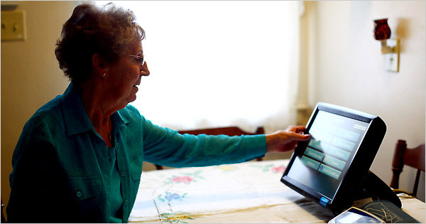 Monitoring Elderly Parents  The New York Times