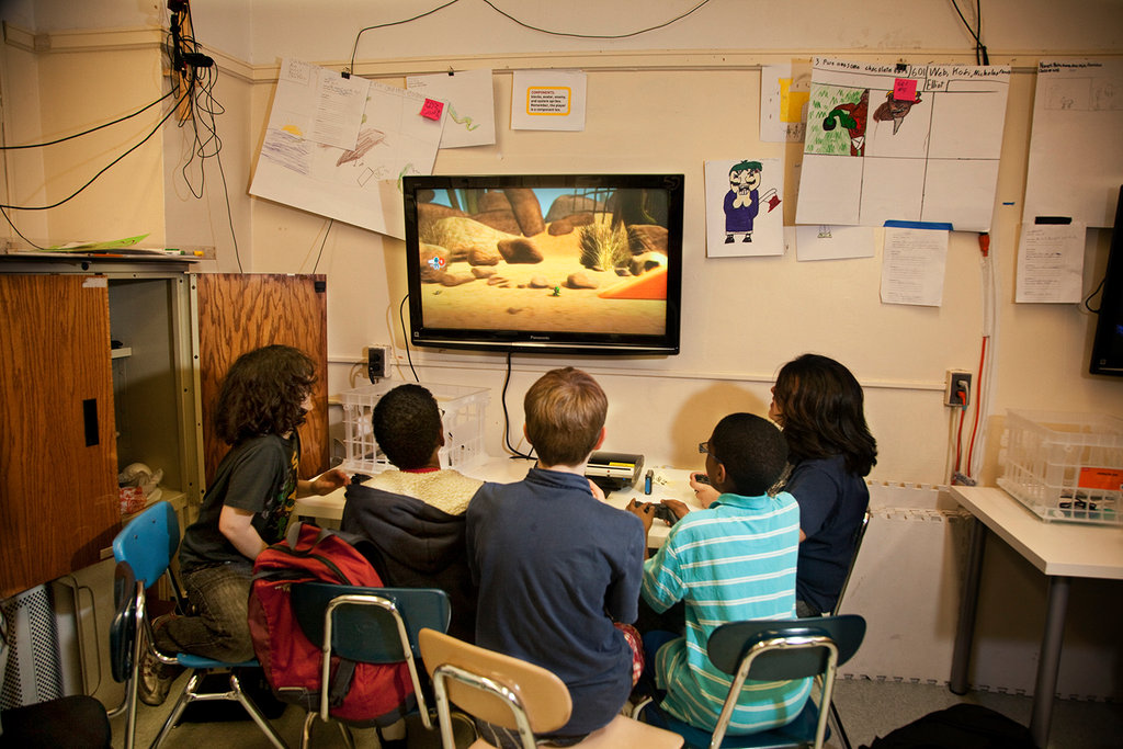 Video Games Win a Beachhead in the Classroom  The New