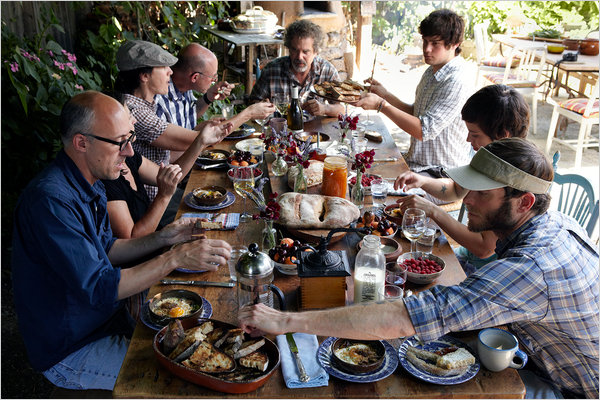 A Cob Oven and the 36Hour Dinner Party  The New York Times