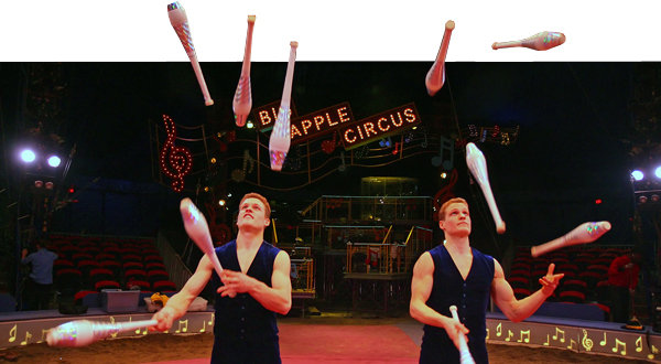 Jake and Marty LaSalle Twin Jugglers End Circus Act  The New York Times
