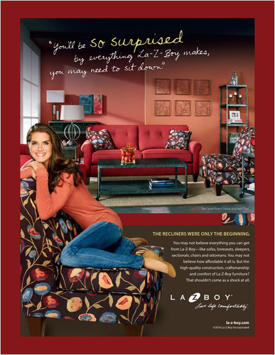 LaZBoy Meets Brooke Shields  The New York Times