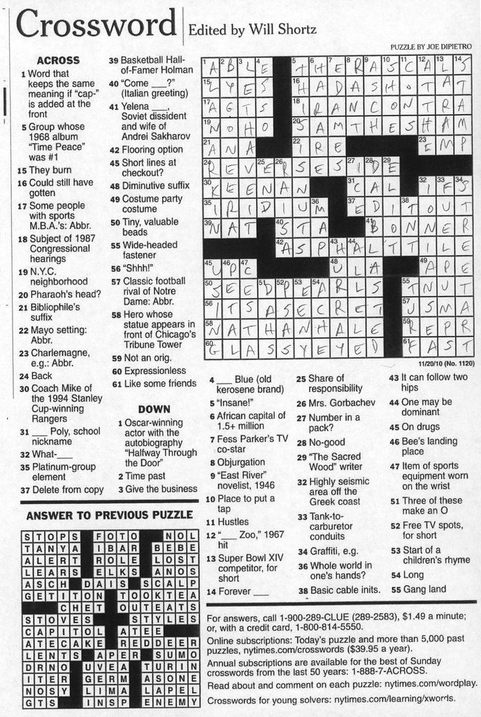 New York Times Front Page Puzzle - NYTStore