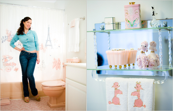 Girl Tied Up Wallpaper Bathrooms Pretty In Pink Again The New York Times