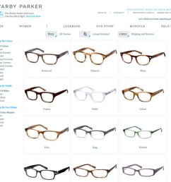 defying conventional wisdom to sell glasses online [ 1024 x 966 Pixel ]