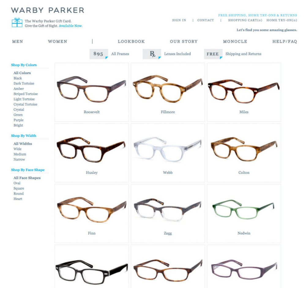 medium resolution of defying conventional wisdom to sell glasses online