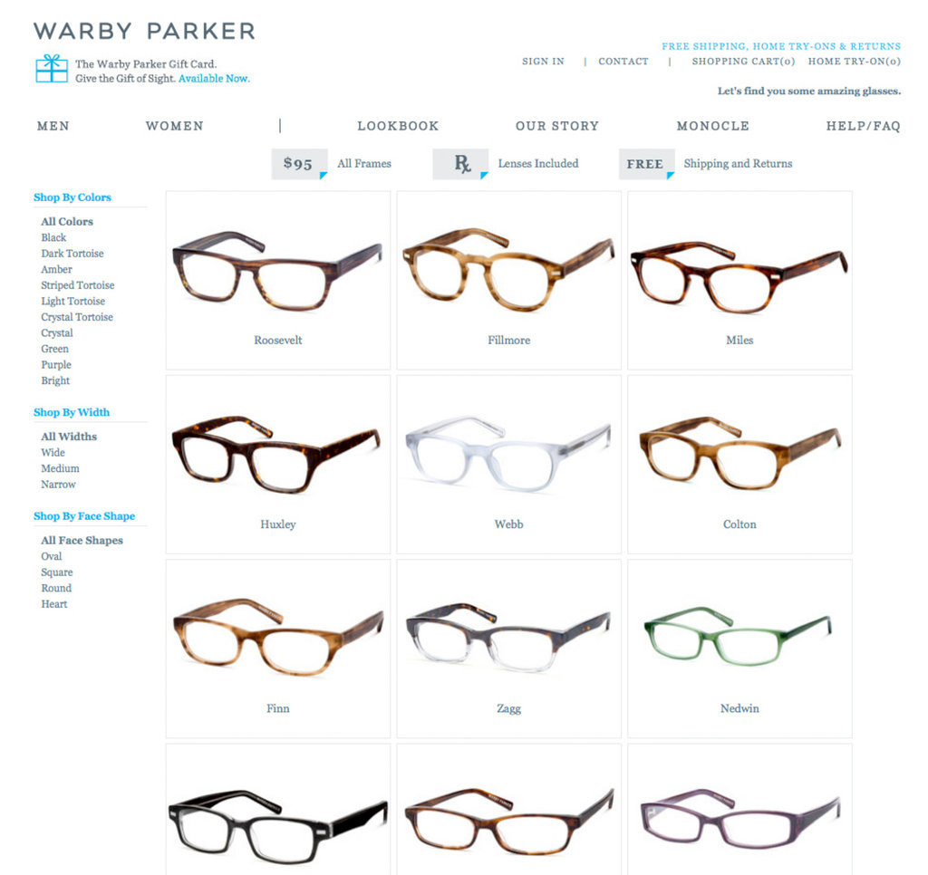 hight resolution of defying conventional wisdom to sell glasses online