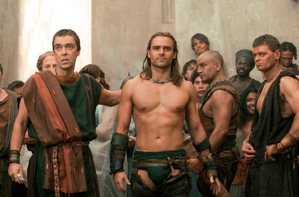 Spartacus Gods of the Arena on Starz  Review  The New