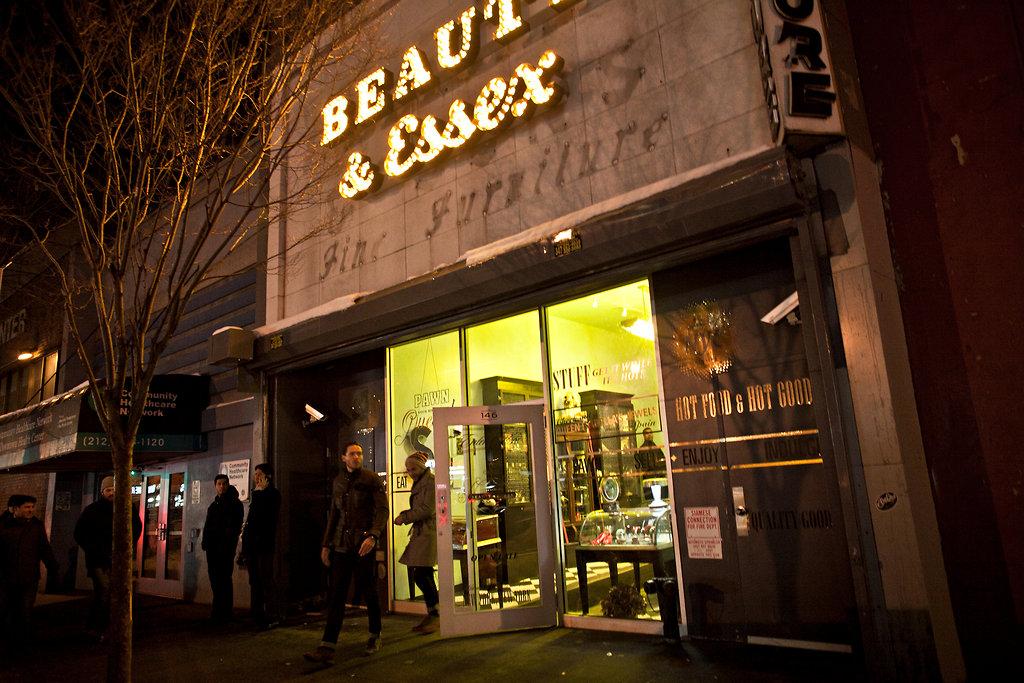 Beauty Amp Essex Nightclub On The Lower East Side Of