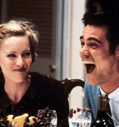 leslie mann and jim carrey in the cable guy the 1996 comedy directed by ben stiller credit sony home entertainment [ 1024 x 790 Pixel ]