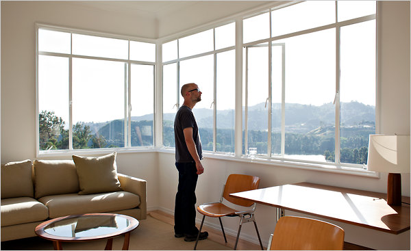 At Home With Moby in a Hollywood Hills Castle  The New York Times