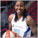 The Liberty's Jessica Breland was treated for cancer of the lymph system two years ago.