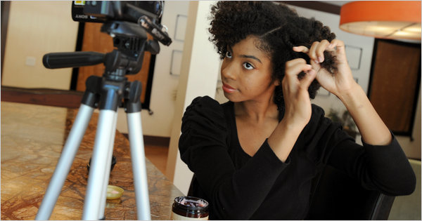 For African Americans Going Natural Can Require Help The New